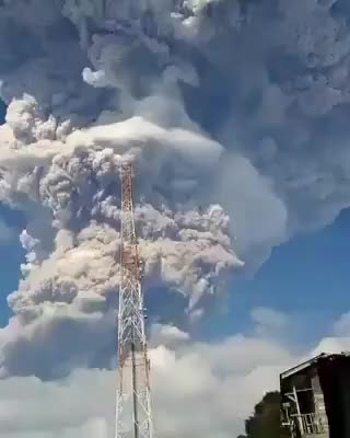 Watch Mount Sinabung Eruption, Indonesia GIF by alternations (@alternations) on Gfycat. Discover more related GIFs on Gfycat