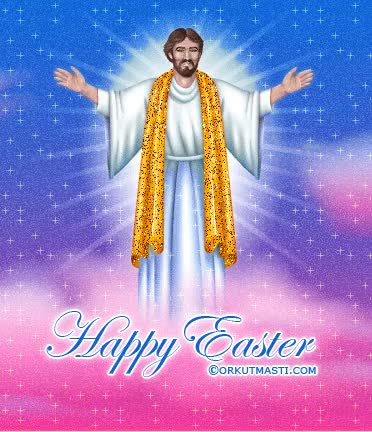 Watch and share Happy Easter Jesus Graphic GIFs on Gfycat