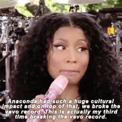 Watch and share Nicki Minaj Gifs GIFs and Gma GIFs on Gfycat