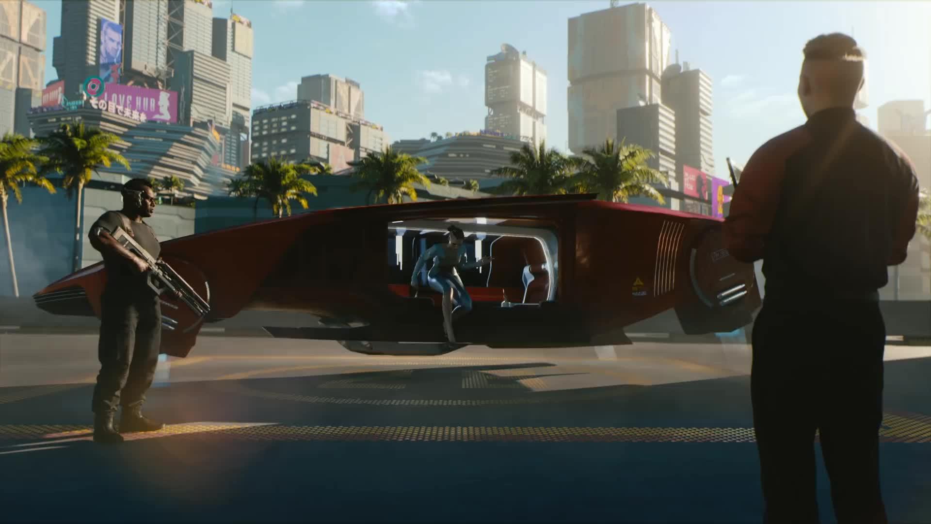 2077, cyberpunk, cyberpunk 2077, Cyberpunk 2077 Ship Landing GIFs