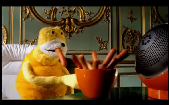 "Watch and share Mr Oizo ""Flat Beat"" Official Video Directed By Quentin Dupieux With Flat Eric GIFs on Gfycat"