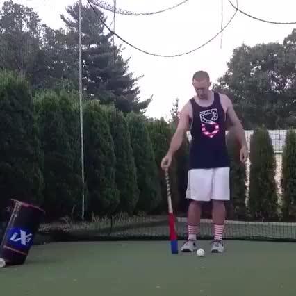 Watch and share So I Heard You Guys Like Softball Tricks (reddit) GIFs on Gfycat
