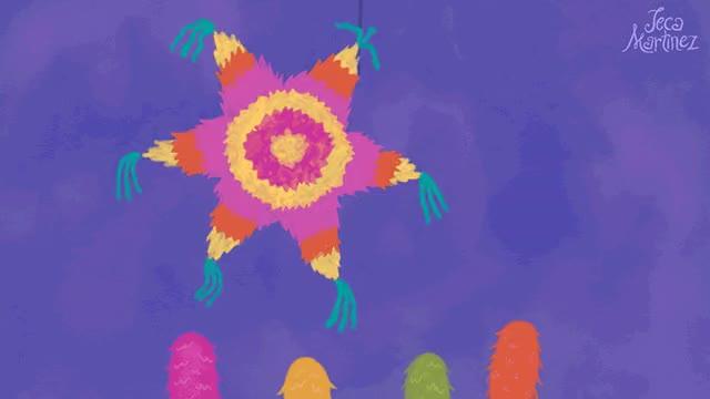 Watch and share Feliz Cumpleanos Mexican Birthday ECard GIF Animation By Jeca Martinez GIFs on Gfycat