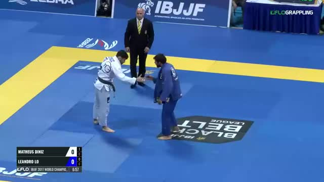 Watch and share Lo Taking Down Matheus Diniz (out Od Bounds, Advantage Lo) GIFs on Gfycat
