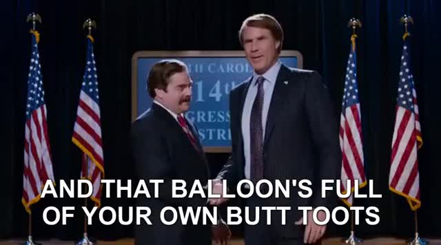 Watch and share Zach Galifianakis GIFs and Will Ferrell GIFs by Ricky Bobby on Gfycat