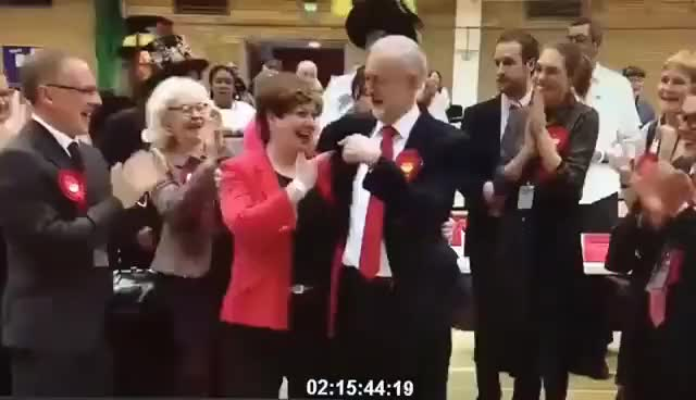 Watch and share Jeremy Corbyn Gives The Worst Ever High-five To Emily Thornberry GIFs on Gfycat