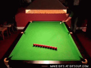 Amazing Snooker Shot GIFs
