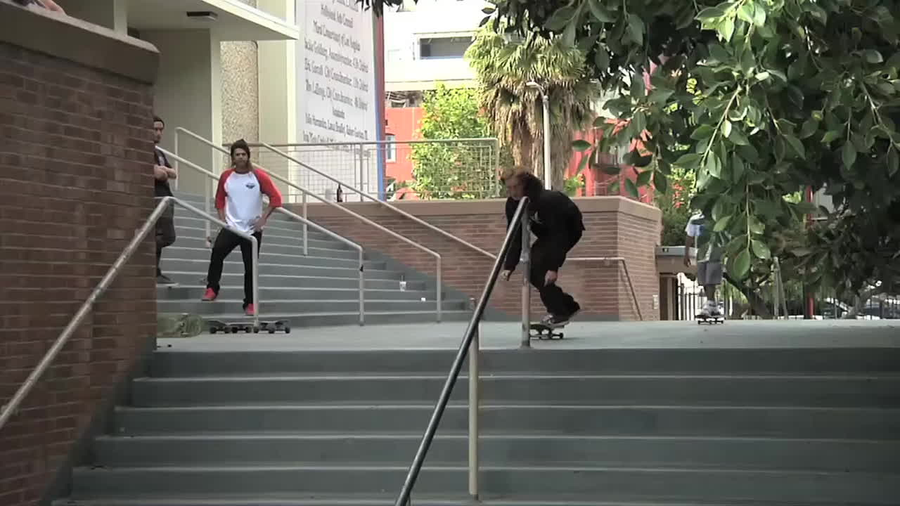 backside 360, backside flip, skateboarding, Outliers Montage | TransWorld SKATEboarding GIFs
