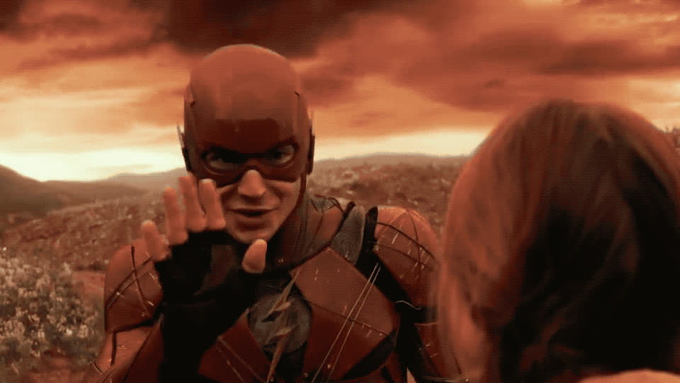 avengers, awkward, bye, cu, flash, funny, goodbye, hello, hey, hi, red, see, soon, superhero, you, The Flash - Hi GIFs