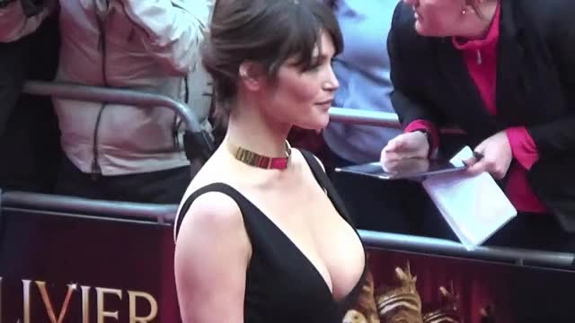 gemma Arterton-A wink and a smile
