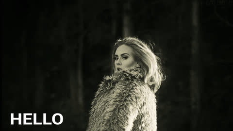 adele, outside GIFs
