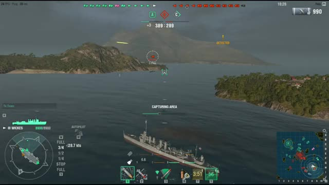 Watch and share World Of Warships GIFs and Torpedoes GIFs on Gfycat