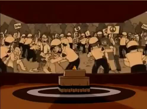 Watch and share Abe Simpson - Glenn Miller & Hippies GIFs on Gfycat