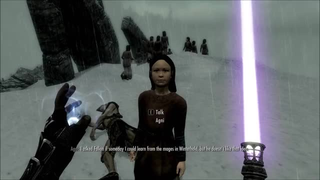 Skyrim Killing Children with Lightsabers GIF | Find, Make & Share