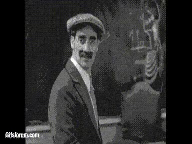 Watch and share Groucho Marx GIF By ElementOf-Loyalty GIFs on Gfycat
