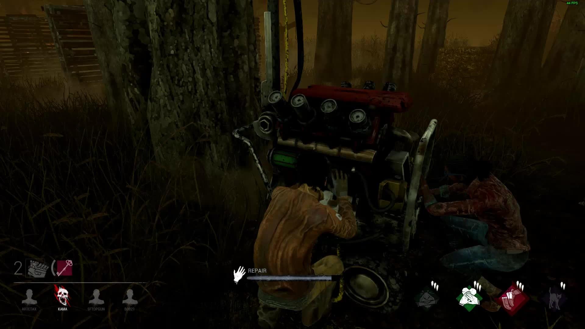 Hatch Spawn Feat Skeleton Key