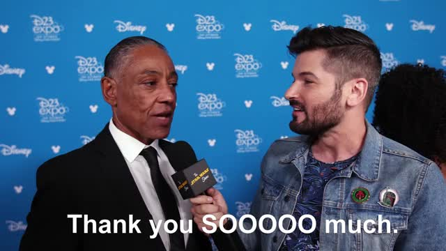 Watch and share The Star Wars Show GIFs and Giancarlo Esposito GIFs by Brendan on Gfycat