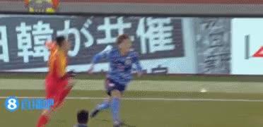 Watch and share 2019 동아시안컵 중국 Vs 일본에서 나온 중국의 소림축구 GIFs on Gfycat
