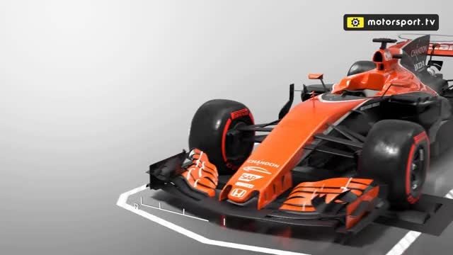 Watch Formula 1 airflow explained - 3D ANIMATION GIF on Gfycat. Discover more related GIFs on Gfycat