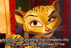 Watch and share Jessica Chastain GIFs and Madagascar 3 Gif GIFs on Gfycat