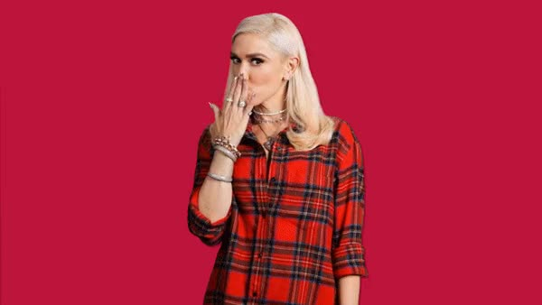 Watch this gwen stefani GIF by The GIF Smith (@sannahparker) on Gfycat. Discover more blow kiss, christmas, gwen stefani, happy holidays, holidays, kiss, kisses, merry christmas, music GIFs on Gfycat