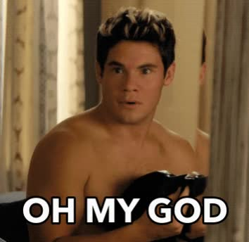 Watch and share Adam Devine GIFs and Oh My God GIFs by Reactions on Gfycat