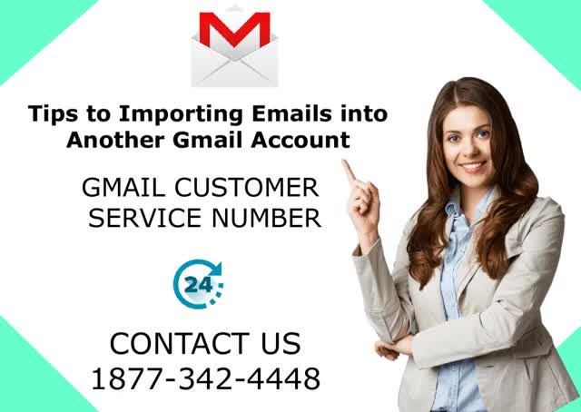 Watch and share Tips To Importing Email Into Another Gmail Account | Gmail Customer Care Number 1877-342-4448 GIFs by Leeza Mark on Gfycat