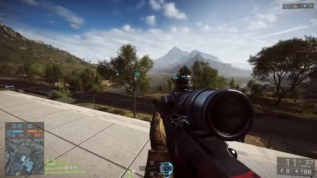 Watch and share BF4 Sniping Munchies GIFs by aghostnamedblu on Gfycat
