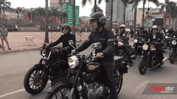MC Anh Tuấn cùng bạn bè diễu hành mô tô tưởng nhớ người anh em Trần Lập ảnh 14