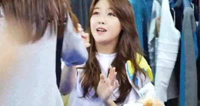 Watch Minah giving a new meaning to foodporn (). GIF on Gfycat. Discover more Aegyo, Girl's Day, Kpop, Minah, Nutella GIFs on Gfycat