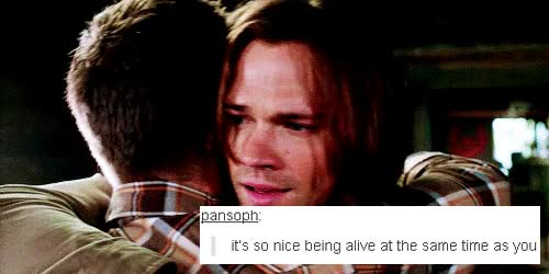 Watch and share Wincest Wallpaper Titled Wincest Tumblr Post Gif GIFs on Gfycat