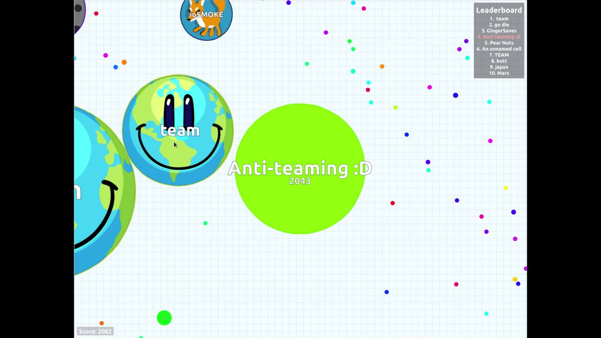 agario, Anti-teaming :D GIFs