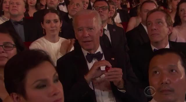 Watch this joe biden GIF by GIF Reactions (@visualecho) on Gfycat. Discover more Award Shows, Awardshows, Joe Biden, Tony Awards, Tony Awards 2017, TonyAwards2017, awardshow, tony GIFs on Gfycat