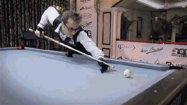 Watch florian kohler pool trickshots GIF on Gfycat. Discover more related GIFs on Gfycat