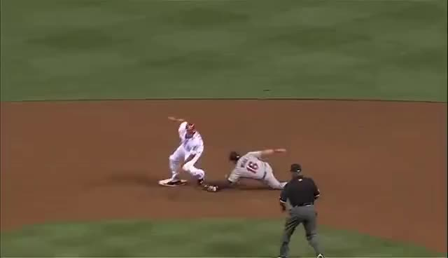 Watch and share Billy Hamilton GIFs and Stolen Base GIFs on Gfycat