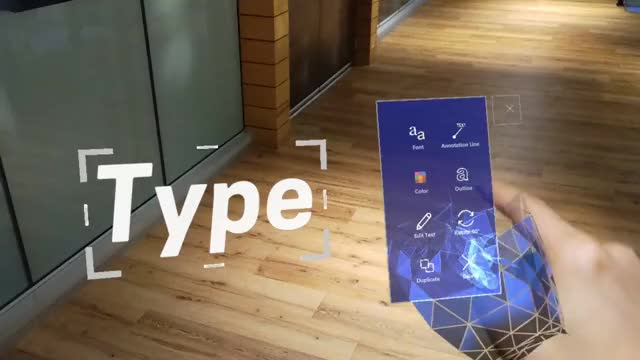 Watch and share TypeInSpace TextMenuInteractions GIFs by Dong Yoon Park on Gfycat