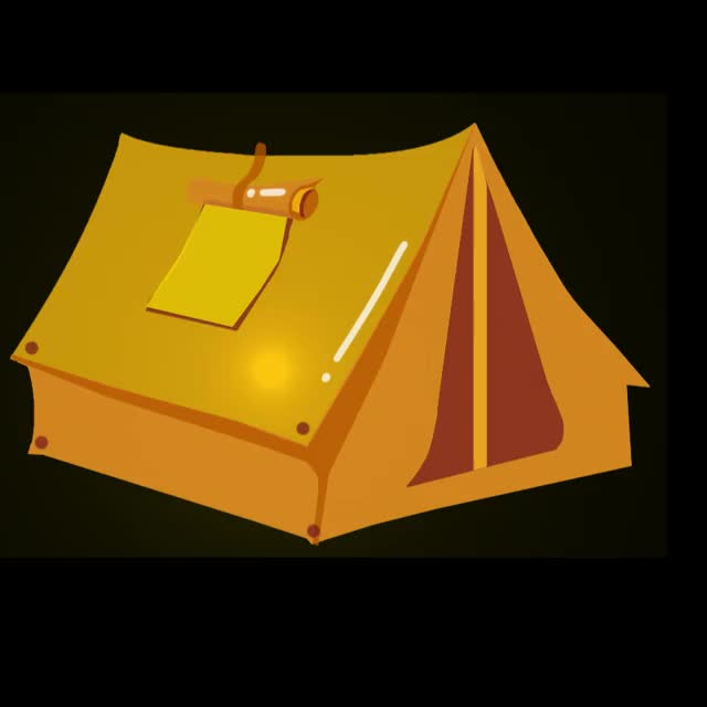 Watch and share Campground GIFs and Goodnight GIFs by Animated Stickers on Gfycat