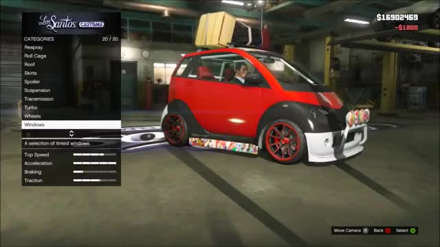 Watch Gta 5 Custom Cars 56 Smart Car The Funniest Thing Ever