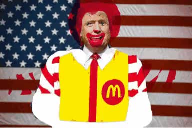 Watch Ronald McDonald Trump GIF on Gfycat. Discover more related GIFs on Gfycat
