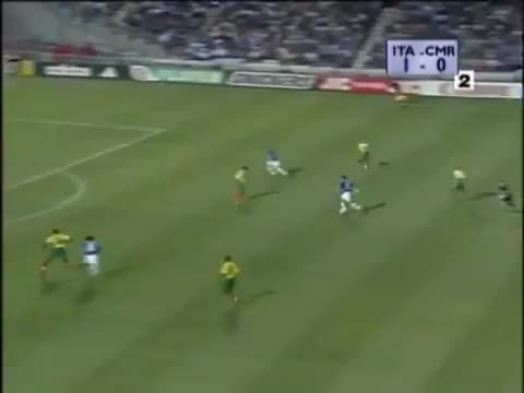 Watch VIERI - Italy vs Cameroon, WC1998 GIF on Gfycat. Discover more related GIFs on Gfycat