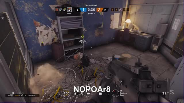 Watch NOPO GIF by Gamer DVR (@xboxdvr) on Gfycat. Discover more NOPO Ar8, TomClancysRainbowSixSiege, xbox, xbox dvr, xbox one GIFs on Gfycat