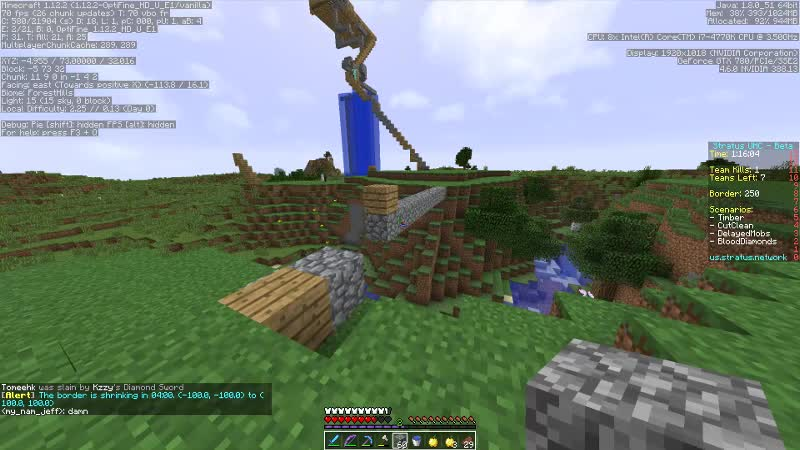 Long Shot During A UHC