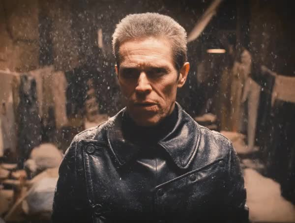willem dafoe, Icy gaze [The Grand Budapest Hotel] : Cinemagraphs GIFs