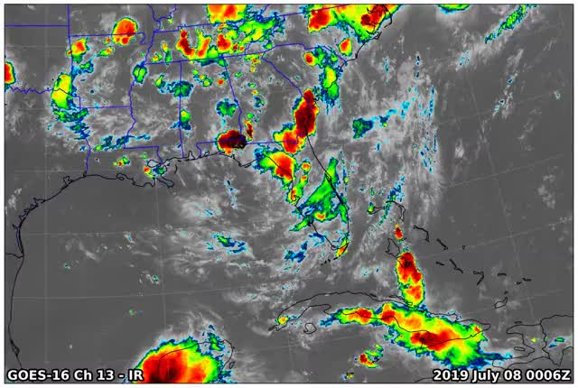 Watch and share GOES16 Ch13 2019 07 08 0006 GIFs by suckerfish on Gfycat