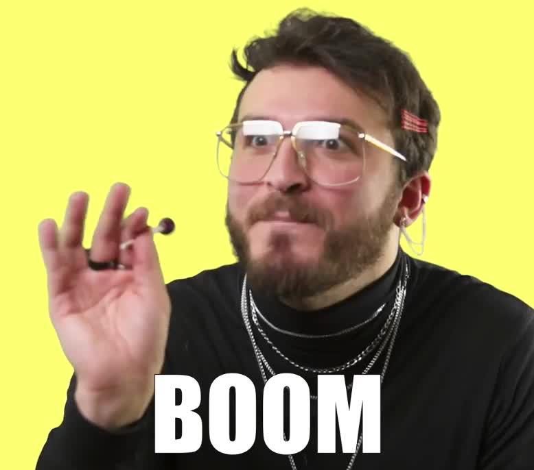 awesome, best, bomb, boom, epic, ever, funny, genious, hijazi, lol, lollipop, lyrics, meaning, omg, parody, take, that, this, youtube, zane, Zane Hijazi - Boom GIFs