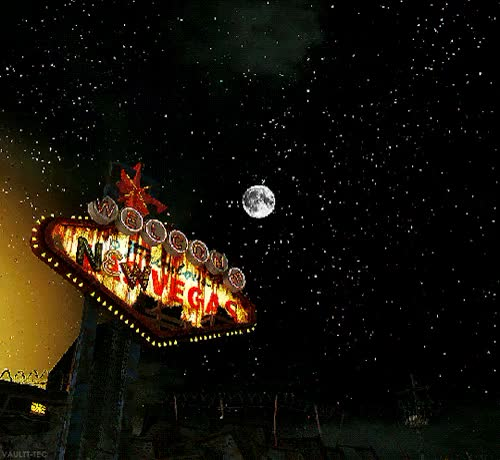 Watch and share Stary Night GIFs and Fallout Nv GIFs on Gfycat