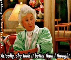 Watch and share The Golden Girls GIFs and Season 3 GIFs on Gfycat