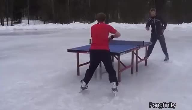 Watch and share Best Of Pongfinity Part 2 I Ping Pong Trick Shots GIFs on Gfycat