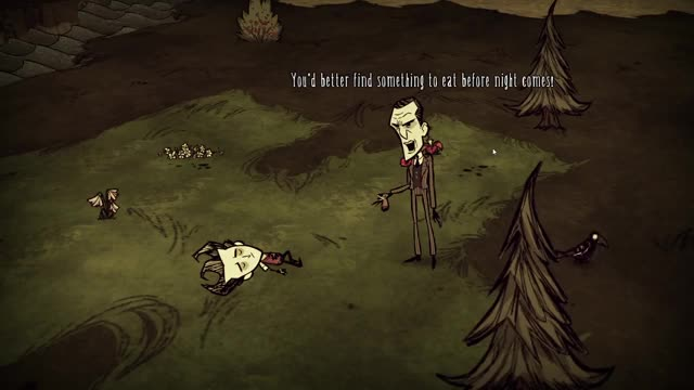 Volx Plays Don't Starve - Episode 1 - Scavenger