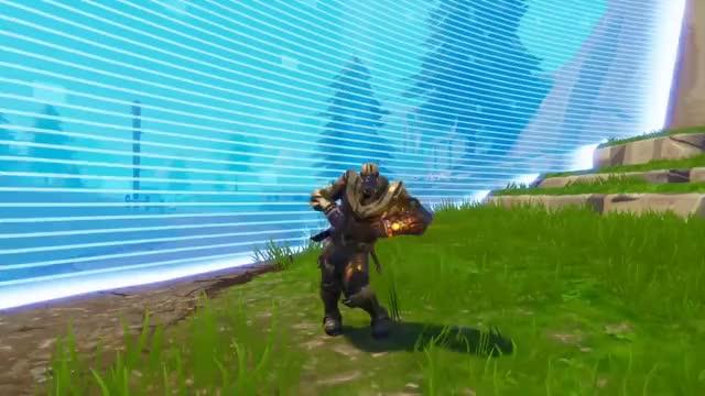 Fortnite Thanos Orange Justice Victory Gif Find Make Share